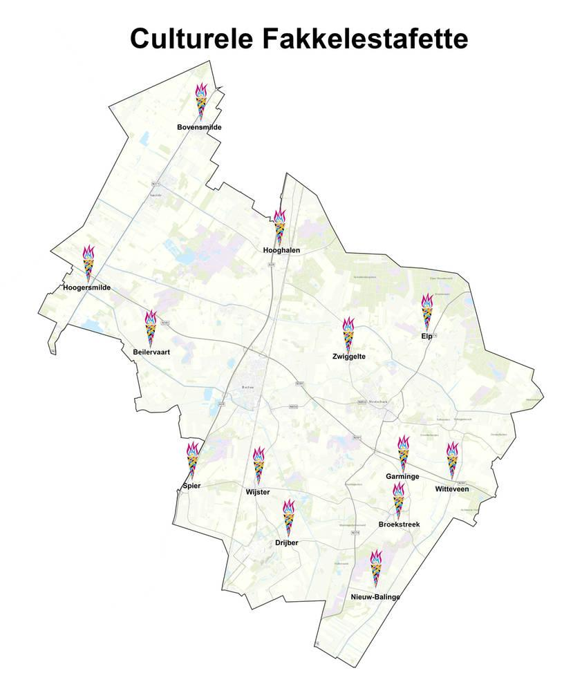 Culturele Fakkelestafette Midden-Drenthe