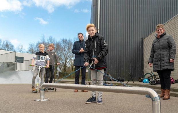 Nieuwe rail voor Beiler skaters