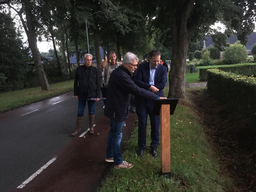Historische fotoroute Zwiggelte officieel geopend